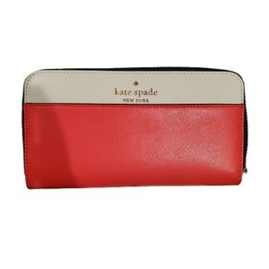 Kate Spade Staci Colorblock Large Continental wallet